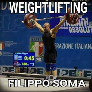Workshop di Weightlifting con Filippo Soma